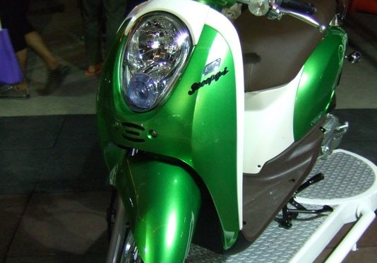 Honda Scoopy-I Green