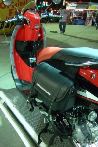 Honda Scoopy-i red colour with bag