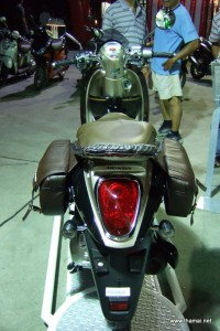 Honda Scoopy-i back light with bag