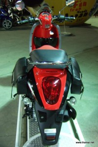 Honda Scoopy-i red colour back light with bag