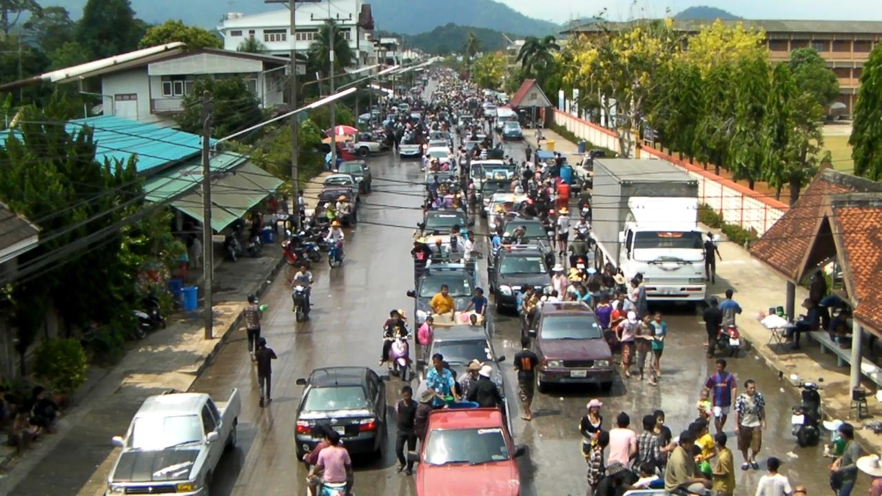 Songkran Festival 2010 in Khlung Chanthaburi Thailand สงกรานต์ ขลุง จันทบุรี 2553
