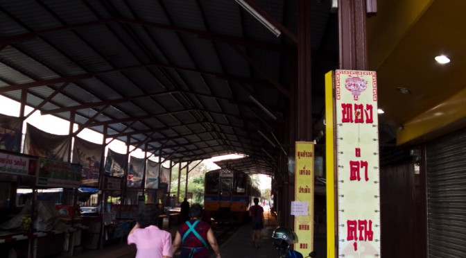 Railway Market in Bangkok ( Train Market )