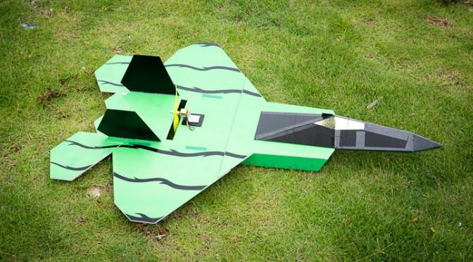 DIY Aircraft in Paknam Khaem Nu