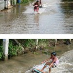 Surfing in Thailand