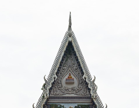Big day in Wat Paknam Khaem Nu