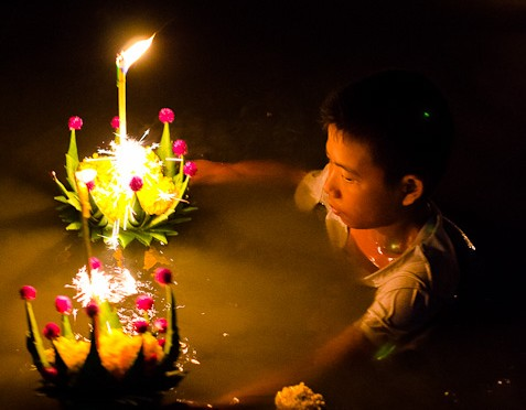 Loy Krathong Festival in Laem Sing 2011 Part II