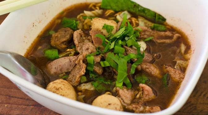 Kuey Teaw Nam Tok near Robinson Chanthaburi